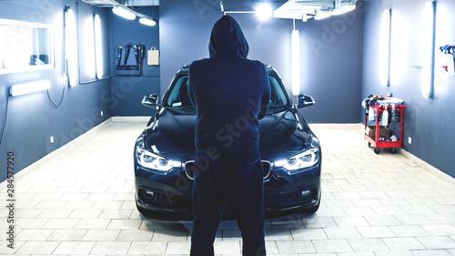Slika na platnu car detailing