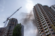 Fire At A Construction Site, U...