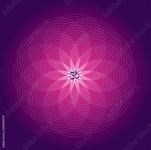 Photo  Circle mandala