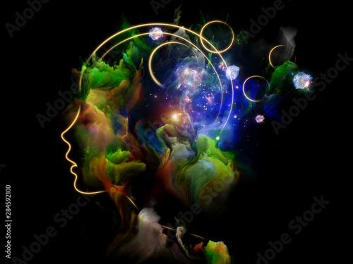 Obraz Energy of Human Mind - fototapety do salonu