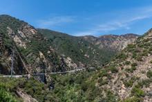 Scenic Panoramic Malibu Canyon Vista, Malibu, Southern California