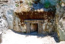 Small Tomb Door Beit She'arim