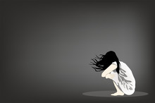 Depressive Patient Feels Lonely, Sadness And Want To Suicide Herself