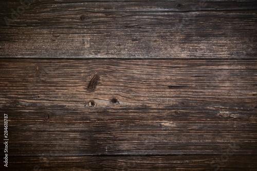 Brown wood plank texture background. hardwood floor Fototapeta
