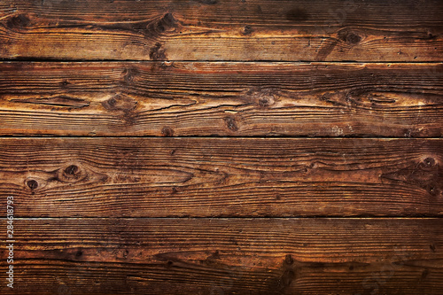 Brown wood plank texture background. hardwood floor - 284618793