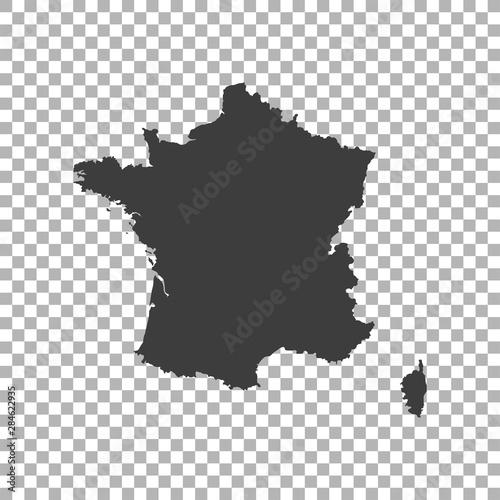 Obraz map of France - fototapety do salonu