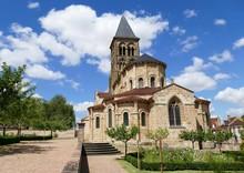 Eglise Romane De Saint-Menoux,...