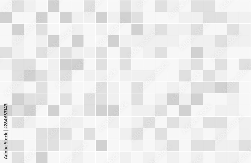 Fototapety, obrazy: Abstract background of geometric shapes. Geometric mosaic of squares.