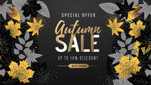 Autumn Big Sale Typography Pos...