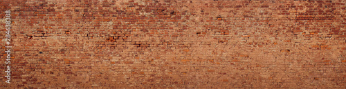 Poster Brick wall Large Old Brick Wall Background
