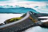 Norwegian atlantic road bridge
