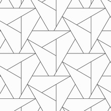 Pattern With Thin Lines Triang...