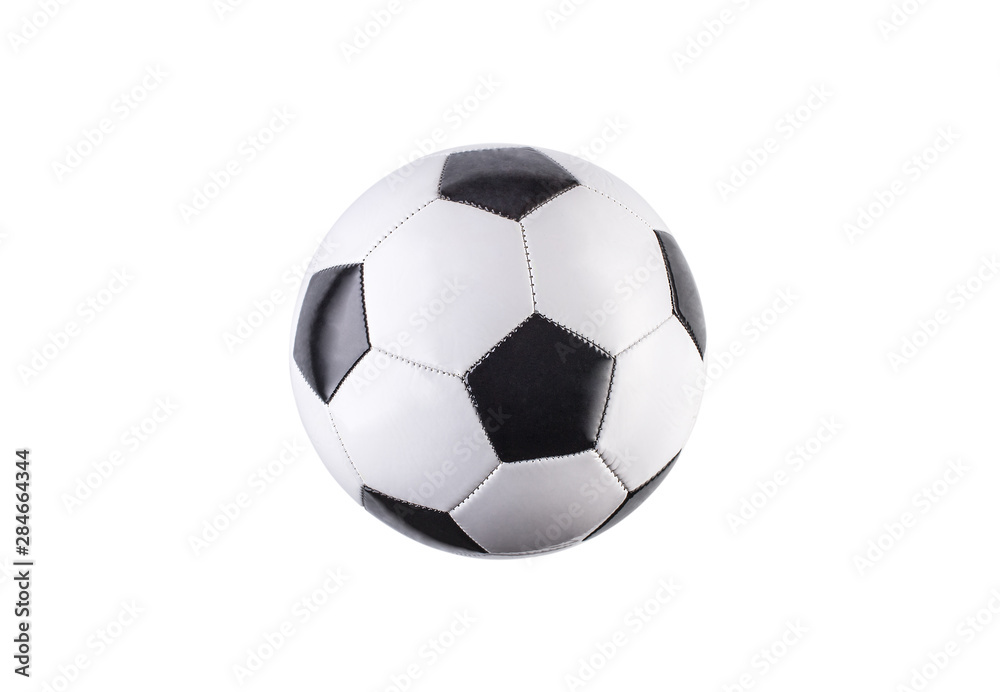 Fototapety, obrazy: Soccer ball isolated on white background