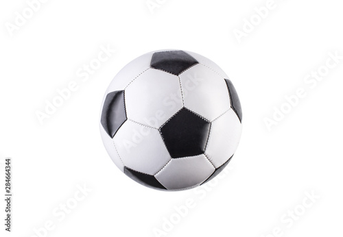 Soccer ball isolated on white background Canvas Print