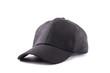 black cap isolated on white background