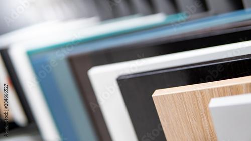 Fotomural  Cabinet panel materials or countertops for built-in furniture design