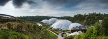 Eden Project Domes In St Austi...