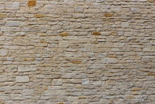 Modern Limestone Wall With Lay...