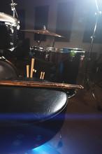 Close-up Of Used Drumsticks Li...