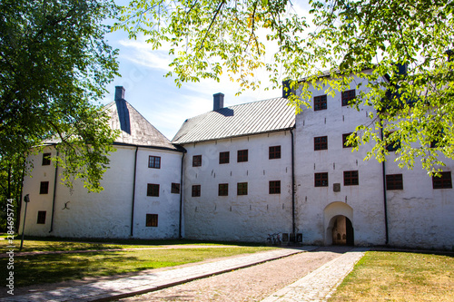 Photo  View of Turku castle bailey, Finland