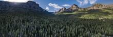 Hyalite Canyon, Montana Panora...