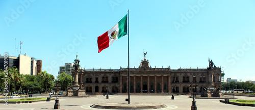 Photo Vista del Palacio de Gobernación del Estado de Nuevo León