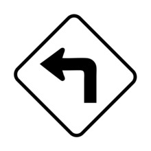 Turn Left Arrow
