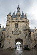 City Gate Cailhau, medieval gate in Bordeaux, Gironde department, France