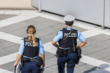Two German Female Police Officer