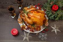Rustic Style Christmas Turkey