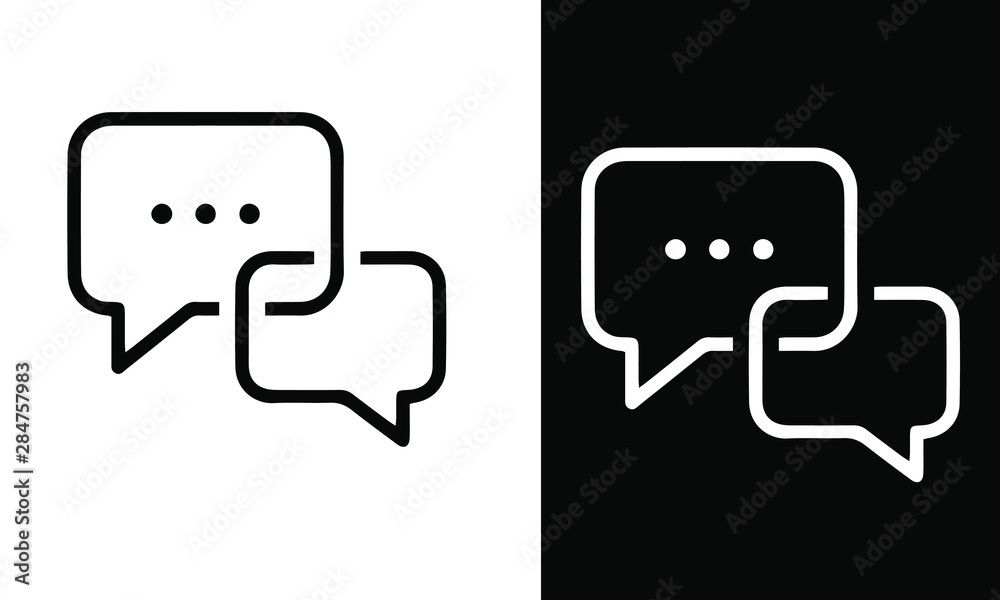 Fototapeta office icons vector design black and white