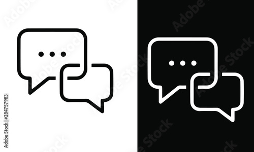 Fotografía  office icons vector design black and white