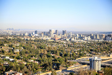 LOS ANGELES, USA : A View Of Los Angeles From The Getty Center