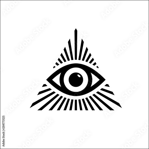 All Seeing Eye Symbol Tablou Canvas
