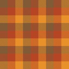 Tartan Fall Seamless Pattern Plaid