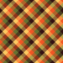 Tartan Fall Seamless Pattern P...