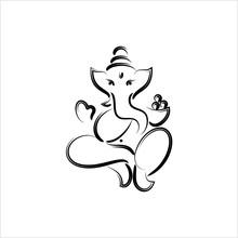 Ganesha The Lord Of Wisdom Design