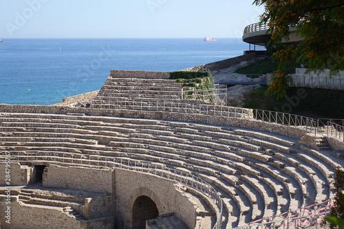 Fotografia Tarradona, Spain. Roman amphitheater ruins