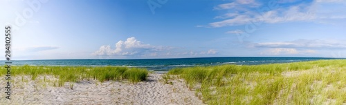 Dünenaufgang an der Ostsee