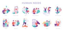 Human Needs Set. Personal Deve...