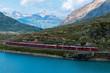 Bernina Pass Swiss Alps Alps and Swiss Mountains
