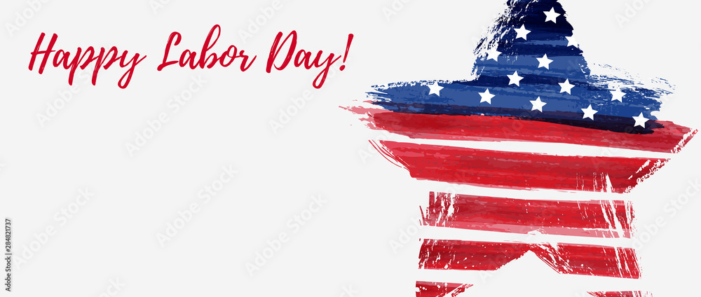 Fototapeta USA Labor day background