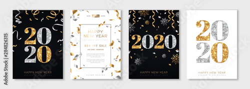 Obraz 2020 New Year set - fototapety do salonu