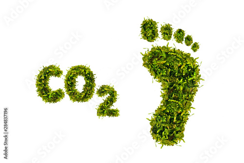 Obraz ökologischer Fussabdruck - fototapety do salonu