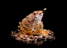 Money Frog As A Symbol Of Attr...