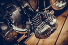 Vintage Motorcycle Boxer Engine