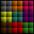 Rectangles abstract background
