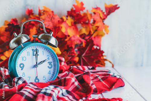 Daylight savings time concept Canvas Print
