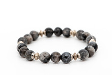 Bracelet Made Of Gray Natural ...