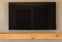 Wall Mounted Television At Home